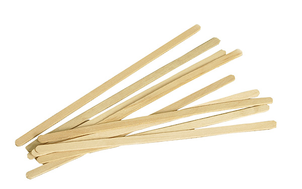 Disposable Wooden Serveware Wooden Coffee Stirrers