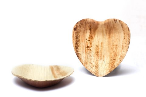 Buy Now · heart shaped palm leaf plate  sc 1 st  Eco-Gecko & Palm leaf plates | Wooden plates | Disposable plates