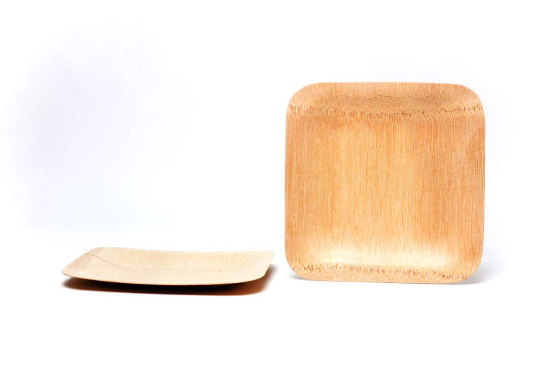 Buy Now · Square Bamboo Plates  sc 1 st  Eco-Gecko & Wooden plates   Bamboo plates   Disposable plates