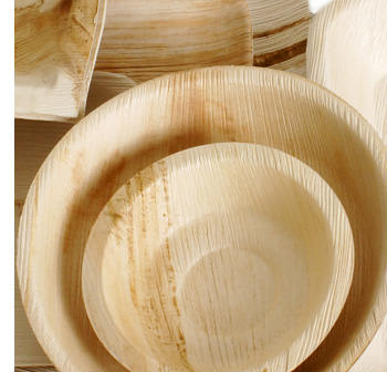 & Palm leaf bowls | Wooden bowls | Disposable bowls