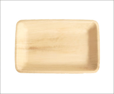 Rectangle Palm Leaf Plates & Disposable Palm Leaf Plates Plates | Eco-gecko.com